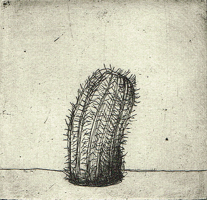 Endless nights 2, 2011, etching, 8 x 8 cm, edition 15
