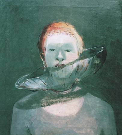 Scheveningen grey, 2002, oil on canvas, 63 x 59 cm