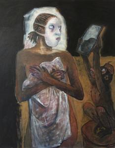 Snow White, 2017, oil on canvas, 100 x 80 cm