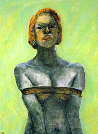 Ties, 2003, oil on canvas, 85 x 65 cm