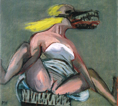 You give me fever, 2003, oil on canvas, 35 x 38 cm
