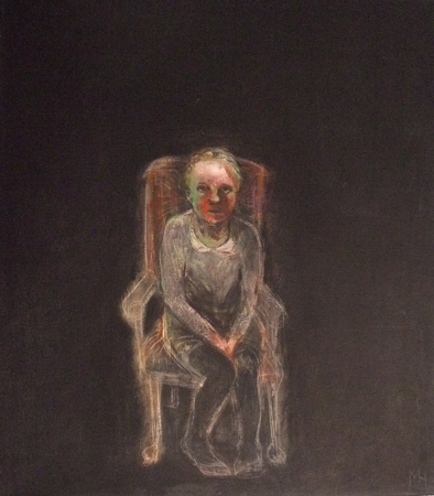 Afraid of the dark, 2009, oil on canvas, 70 x 60 cm