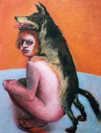 Dog day, 2008, oil on canvas, 100 x 80 cm