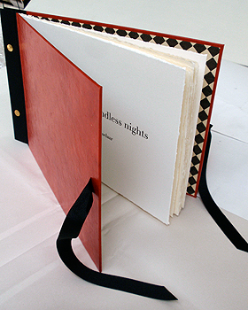 Pillow book for Endless nights, Livre d'Artiste,  2011, book edition 7