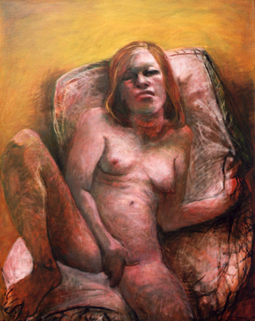 Home sweet home, 2009, oil on canvas, 110 x 95 cm