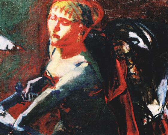 Judith, 1998, oil on canvas, 38 x 46 cm