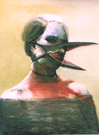 Ne me quitte pas, 2003, oil on canvas, 65 x 50 cm