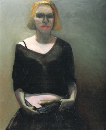 Party girl, 2003, oil on canvas, 113 x 97 cm