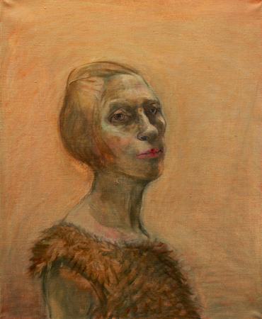 Penitente, 2010, oil on canvas, 56 x 46 cm