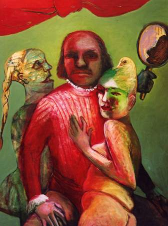Portrait of a self-controlled man, 2003, oil on canvas, 110 x 85 cm