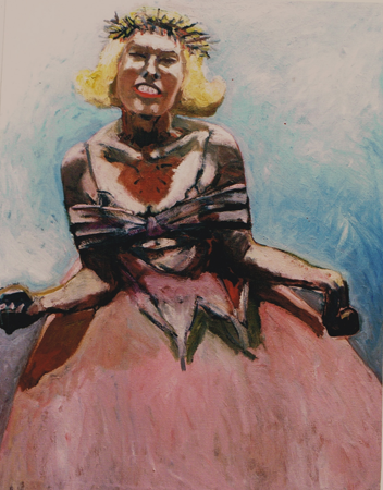 Queenie, 1998, oil on canvas, 130 x 100 cm