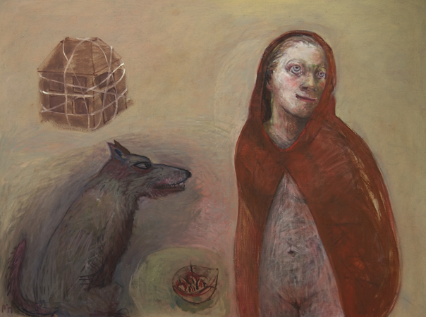 Red Riding hood 2, 2010, oil on canvas, 90 x 120 cm