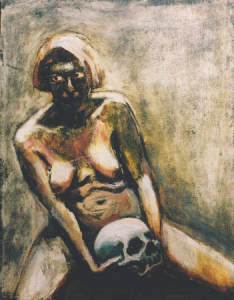Soulmates, 1999, oil on canvas, 46 x 35 cm
