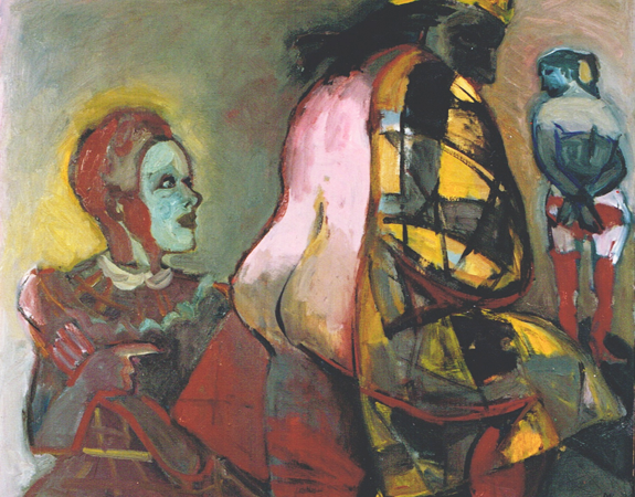 The family, 1996, oil on canvas, 90 x 120 cm