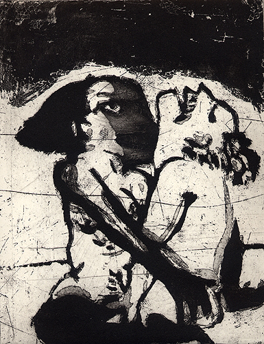 The great escape, 2006, aquatint, 24 x 19 cm, edition 30