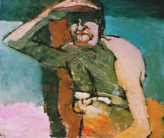 The woman everyone knows, 1993, oil on canvas, 65 x 75 cm