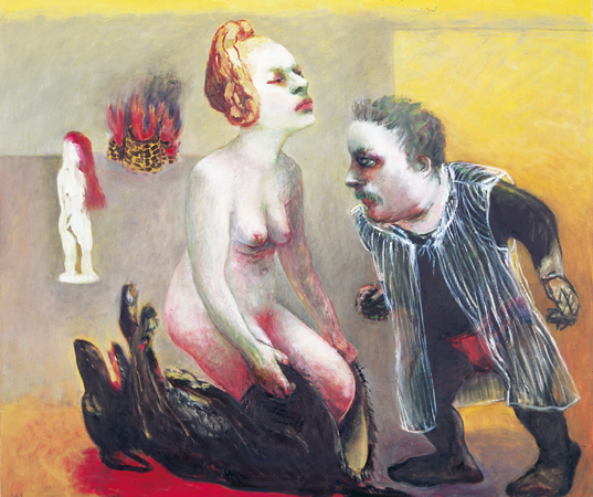 Under my skin 5, 2006, oil on canvas, 110 x 130 cm