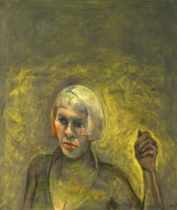 Acid blonde, 2014, oil on canvas, 70 x 60 cm